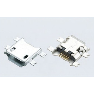 Micro USB 5P Receptacle B TYPE SMT Drop-in