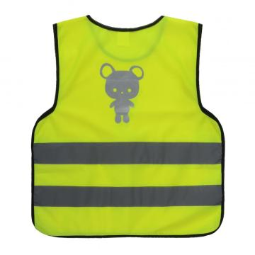 Children safety vest with reflective tape