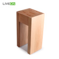 Kitchen Knife Set with Beech Wood Stand