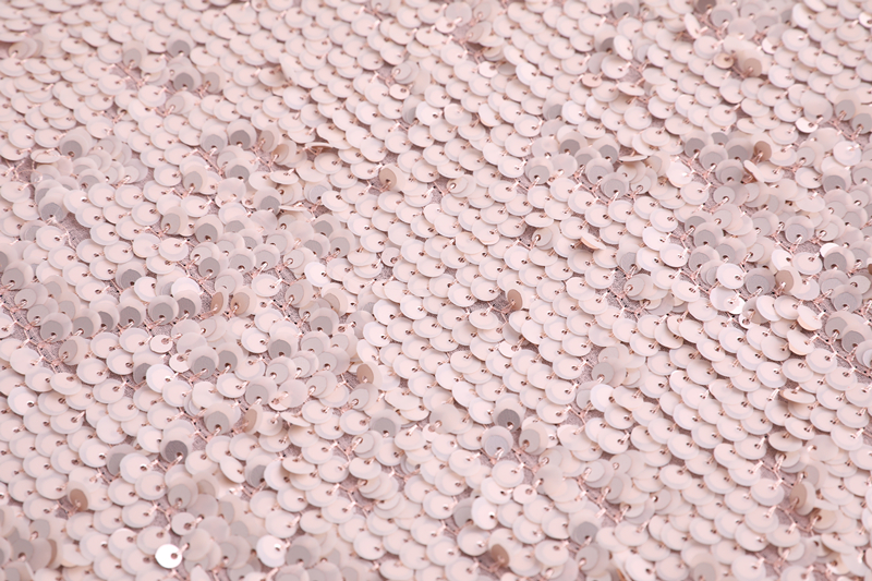 5mm Sequin Mesh Embroidery Fabric