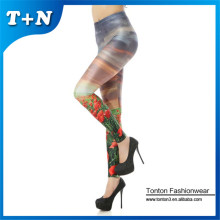 New custom printed tight sublimation spandex leggings