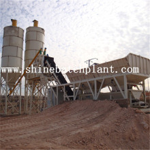 Wet Portable Concrete Batching Plant
