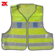 Best price High visibility warning garment for police