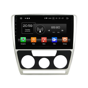 multimedia car radio for Octavia 2007-2009