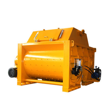 JS gravity type concrete mixer with hydraulic hopper