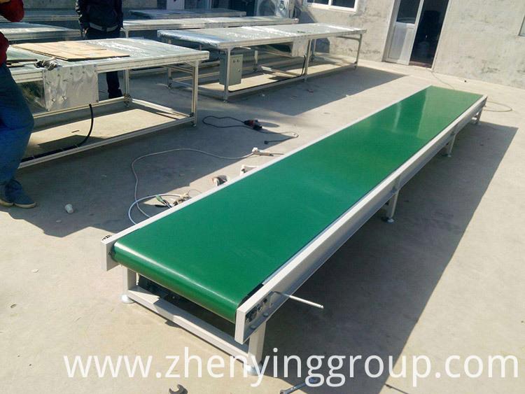Industrial idler roller horizontal light belt conveyor China