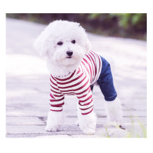 Pet Dog Clothing Stripe Dress Apparel