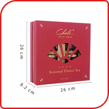 Luxury Red Matt Cardboard Gift Paper Box