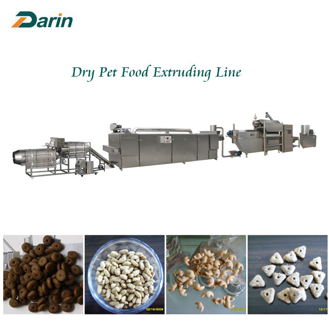 Dry Pet Food Making Machine