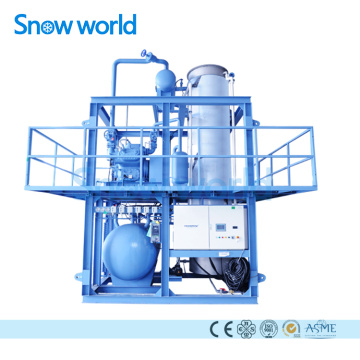 Snow world Factory Price Industrial Tube Ice Machine