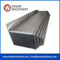 Strong structure steel plate telescopic guide shield cover