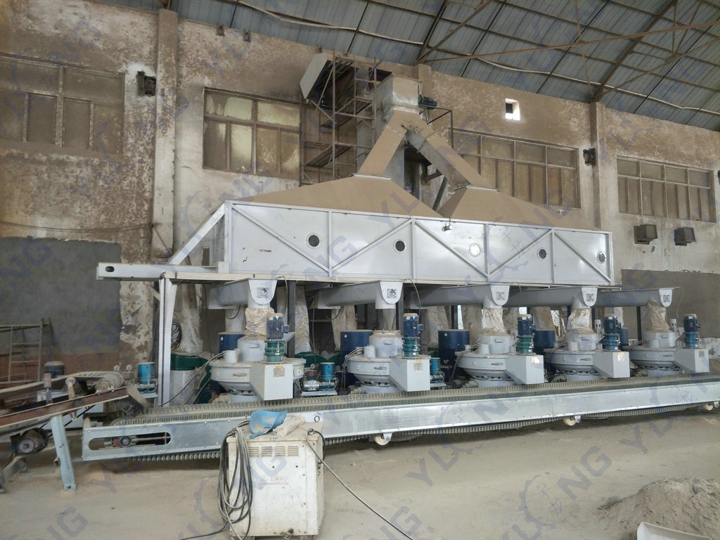 Rice Husk Pellet Making Plant
