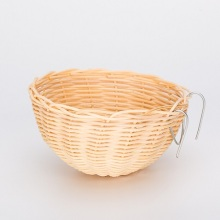 Percell Bowl Shaped XLarge Rattan Bird Nest