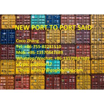 China for Africa Shipping Line Foshan New Port Sea Freight to Egypt Port Said supply to Russian Federation Manufacturer