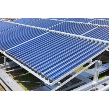 CPC Solar Collector with Stainless Steel Reflector