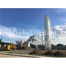 35 Wet Portable Concrete Batching Plant
