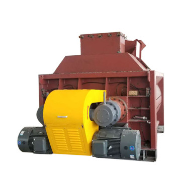 twin shaft forced concrete mixer machine