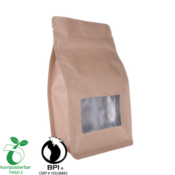 Zipper Box Bottom Eco Friendly Packaging Wholesale From China