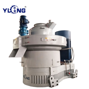 Yulong Vertical Ring Die Pellet Processing Machine