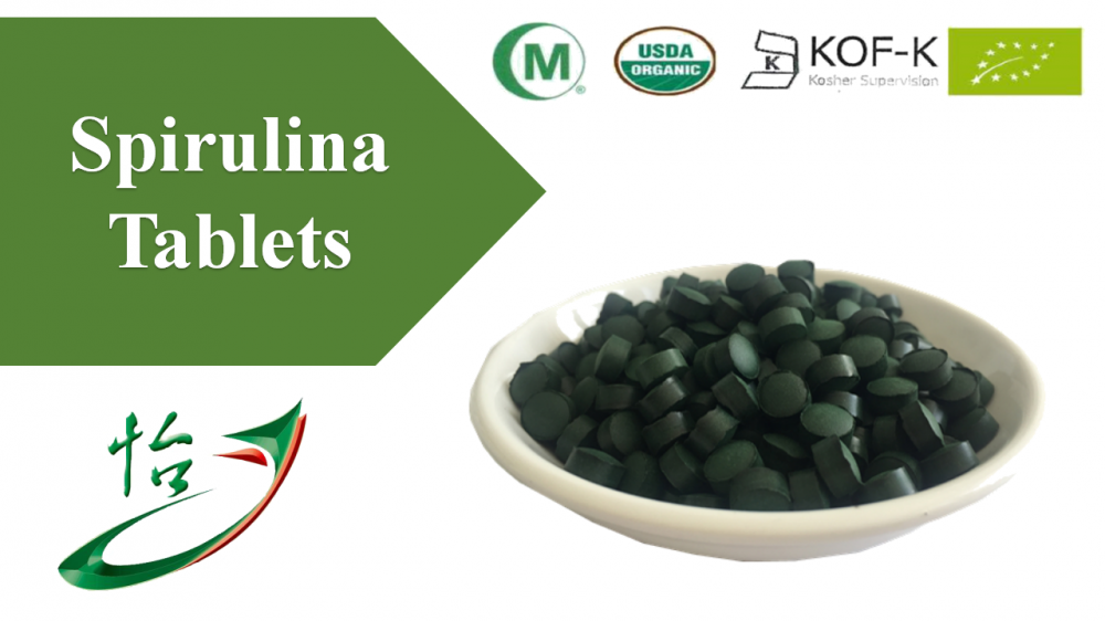 Spirulina Tablets Food Grade