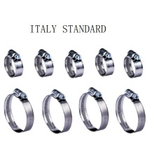 Excellent quality price for Flexible Clamps Italy Type Hose Clamp export to Tuvalu Supplier