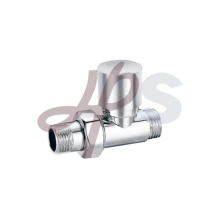 Brass radiator valve straight type