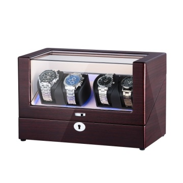 Two Rotors Perpetual Motion Watch Winder with LED
