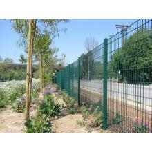 welded double wire fence