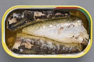small size canned fish