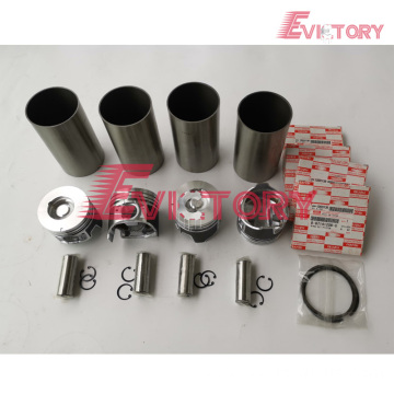 ISUZU 4G63 rebuild overhaul kit gasket bearing piston