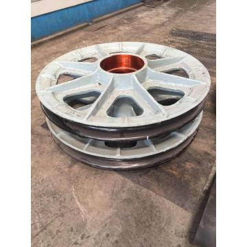 Alloy Steel Pulley Sheave With Good Price