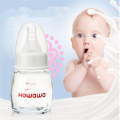 Baby Glass Milk feeding Bottle Without Handle