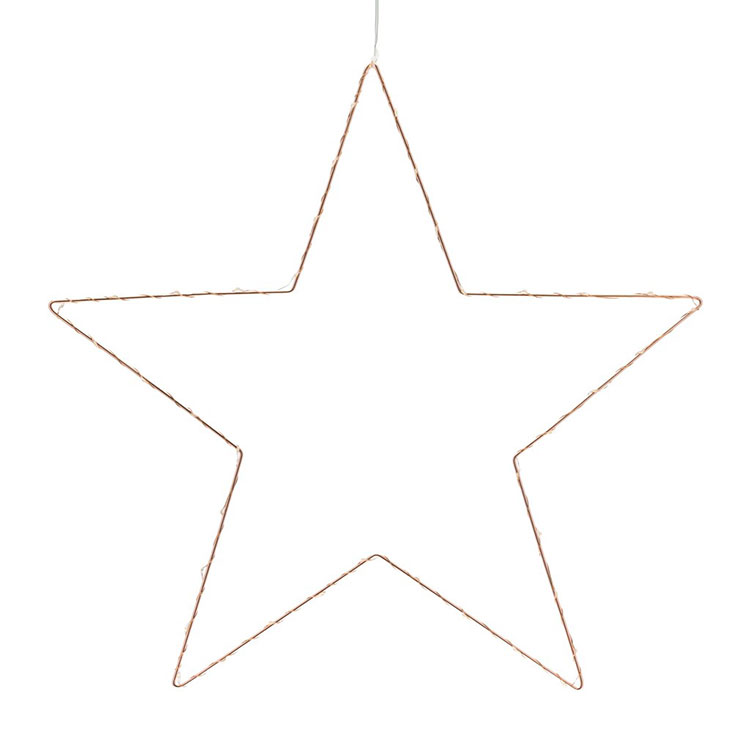 Star Led Metal Light