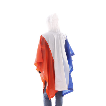Promotion Top-quality pvc printed rain poncho