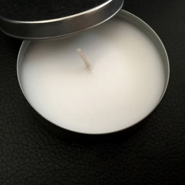 Tin Container scented soy wax candles for decoration
