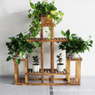 A Shape Flower Stand Shelf