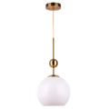 Indoor Glass Shade Retro Design Pendant Lamps