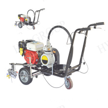 Cold line road marking removal machine