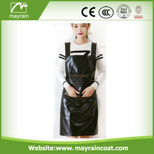 Black Adjusted PU Apron