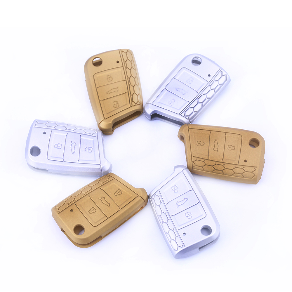 vw silicone car key case