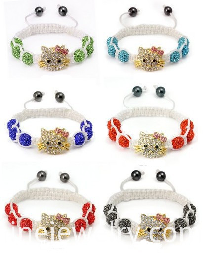 Shamballa Beads Bracelet For Children