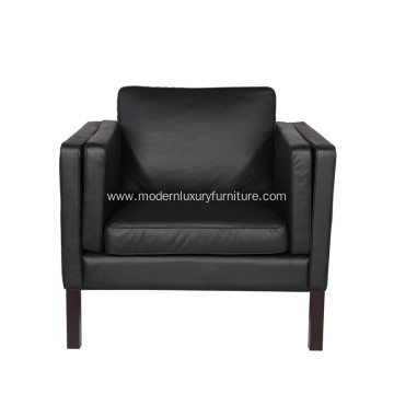 Mogensen Leather Easy chair Replica