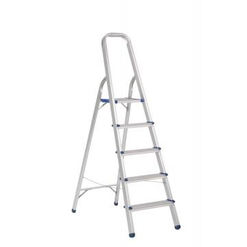 5 steps ALUMINUM HOUSEHOLD STEP LADDER