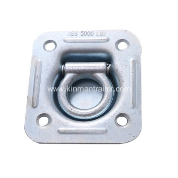Forged Customized Galvanized Trailer Lashing Ring