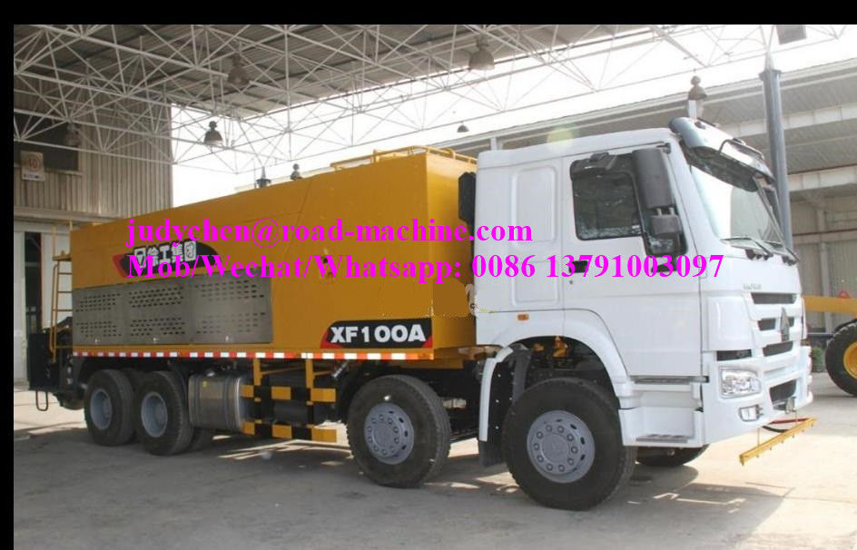 Model XZJ5311TFC(XF100A)Slurry Sealing Truck