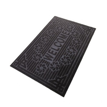 40x60 embossed velour polyester floor mat
