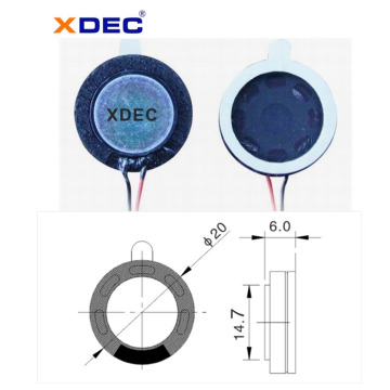 factory low price for Stereo Speakers 20mm 8ohm 1w reading pen speaker export to Georgia Suppliers