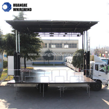 used mobile stage trailer for sale