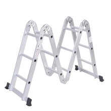 New Arrival for Folding Ladder With Hinges AY-403 Aluminum folding ladder export to Saint Vincent and the Grenadines Factories