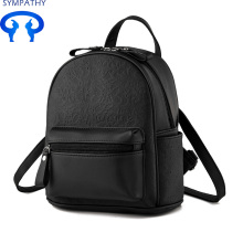 Custom-made Oxford canvas backpack student backpack